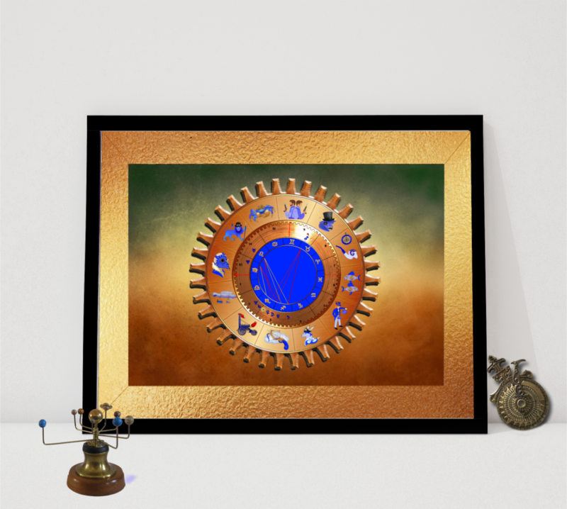Mystic Astrology Chart  - product image