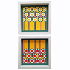 Giclee art print - Eggs and stripes - product images 2 of 2