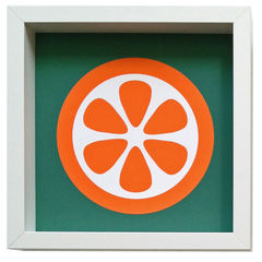Giclee art print - Orange - product images 1 of 2