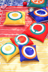 Screen printed cushion cover - Fried egg - product images 5 of 5