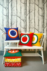 Screen printed cushion cover - Fried egg - product images 3 of 5