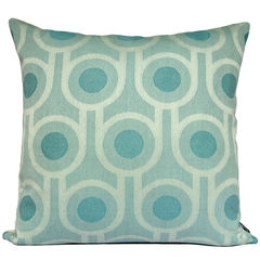 Benedict Blue Large Repeat cushion 45x45cm - product images 1 of 5
