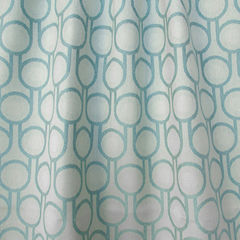Benedict Blue Small Repeat woven wool fabric - product images  of