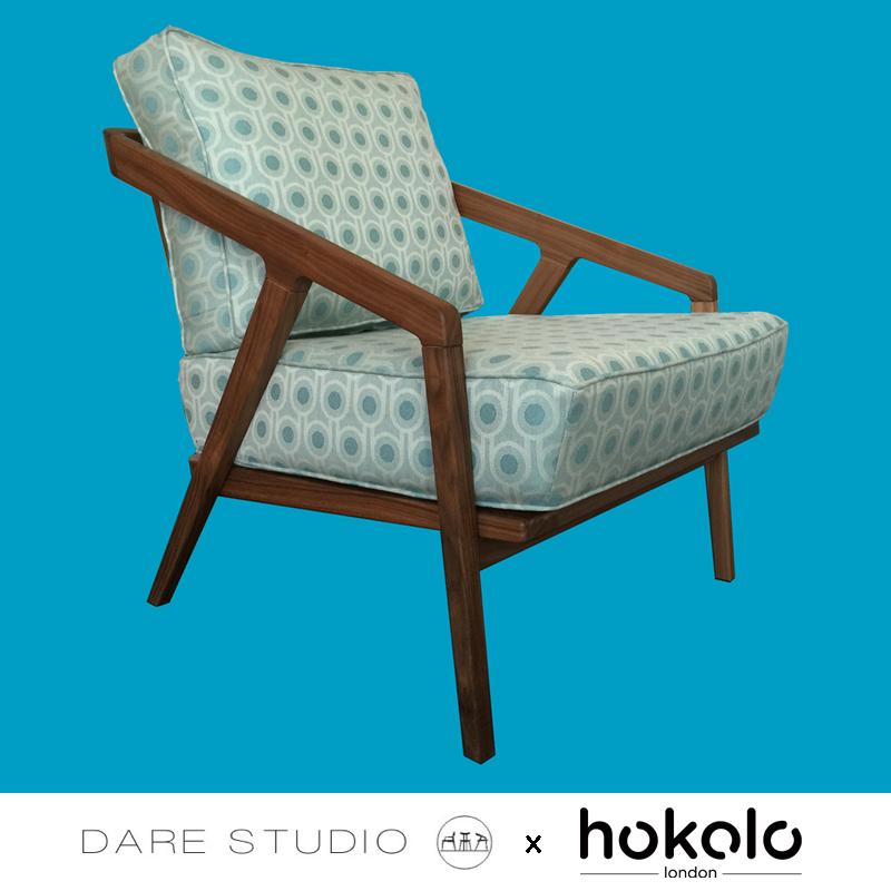 Dare Studio Katakana Lounge Chair Collaboration