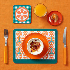 coaster & placemat set - Oranges - product images 2 of 2