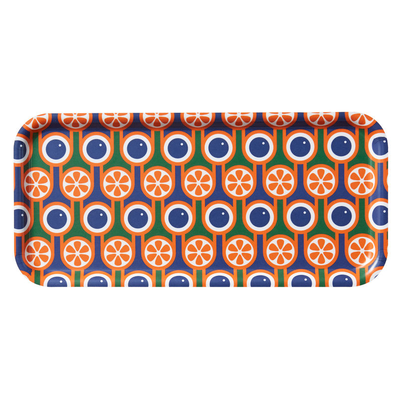 Birch Tray - Blueberries and Oranges - product image