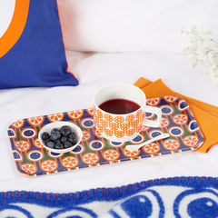 Birch Tray - Blueberries and Oranges - product images 3 of 4