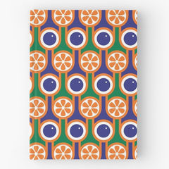 Hardback notebook - Blueberries and Oranges - product images 1 of 2