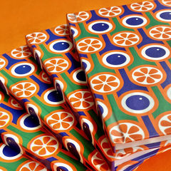 Hardback notebook - Blueberries and Oranges - product images 2 of 2