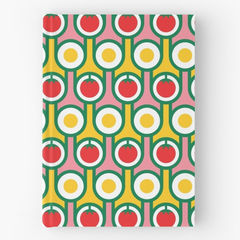 Hardback notebook - Eggs and Tomatoes - product images 1 of 2