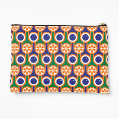 Zipper pouch - Oranges and blueberries - product images 1 of 3
