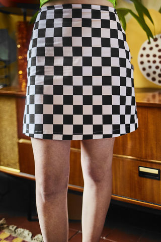 Checkerboard,Mini,90s mini skirt checkerrboard check