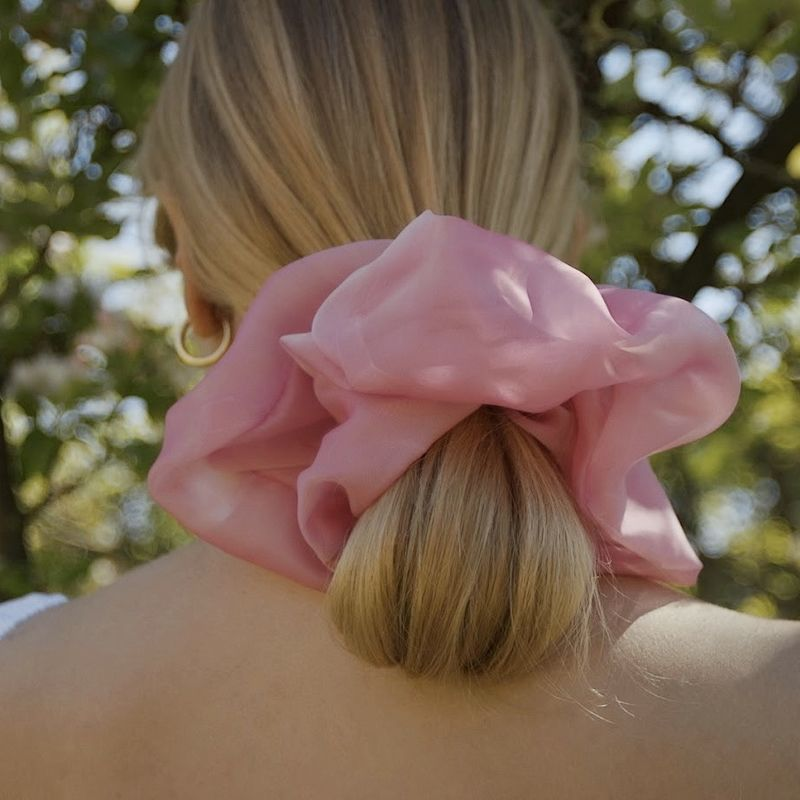 Soft Pink Giant Scrunchie - product images  of