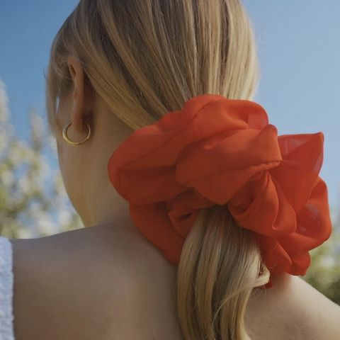 Red Giant Scrunchie - product images  of