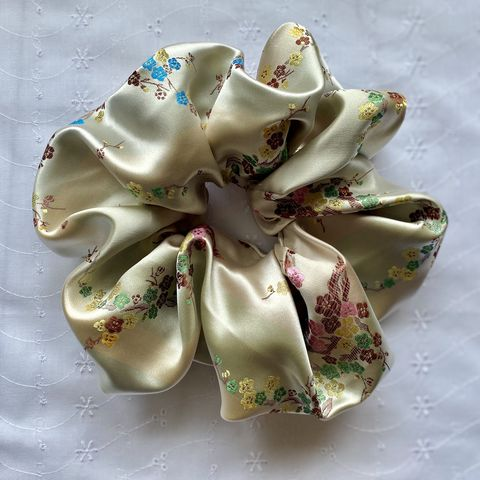 Blossom Satin Giant Scrunchie - product images  of