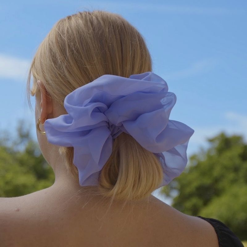 Lavender Giant Scrunchie - product images  of