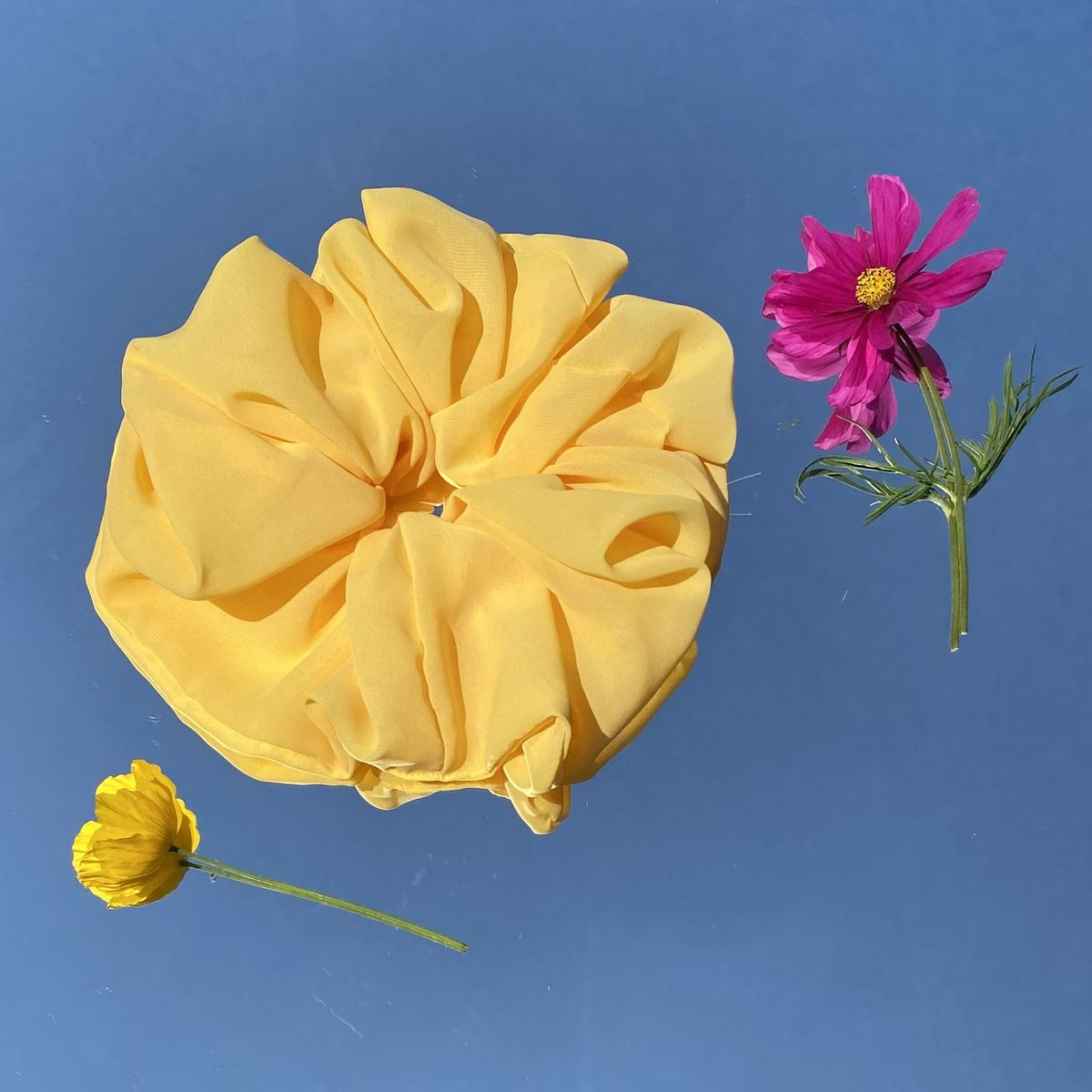 Sunshine Yellow Giant Scrunchie - product images  of