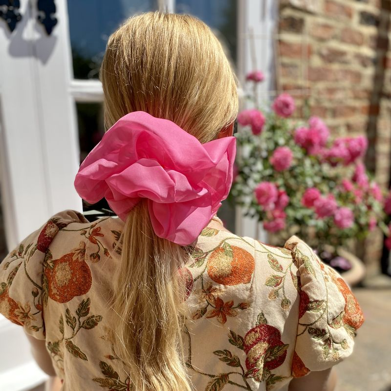 Sugar Pink Giant Scrunchie - product images  of