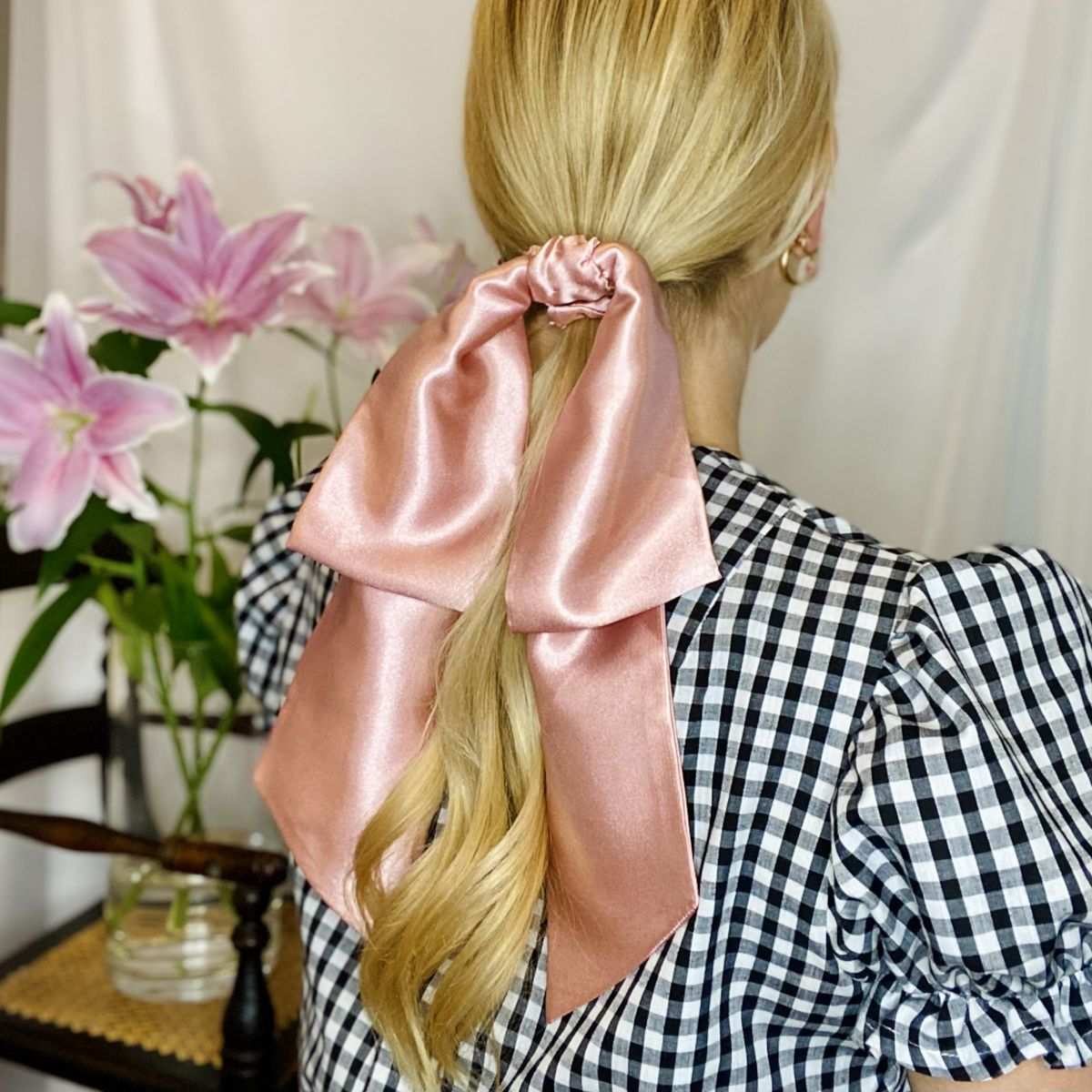 Blush Pink Giant Bow - product images  of