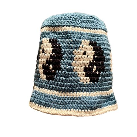 Dolphin,Blue,Yin,Yang,Hat,Crochet yin yang bucket hat cotton