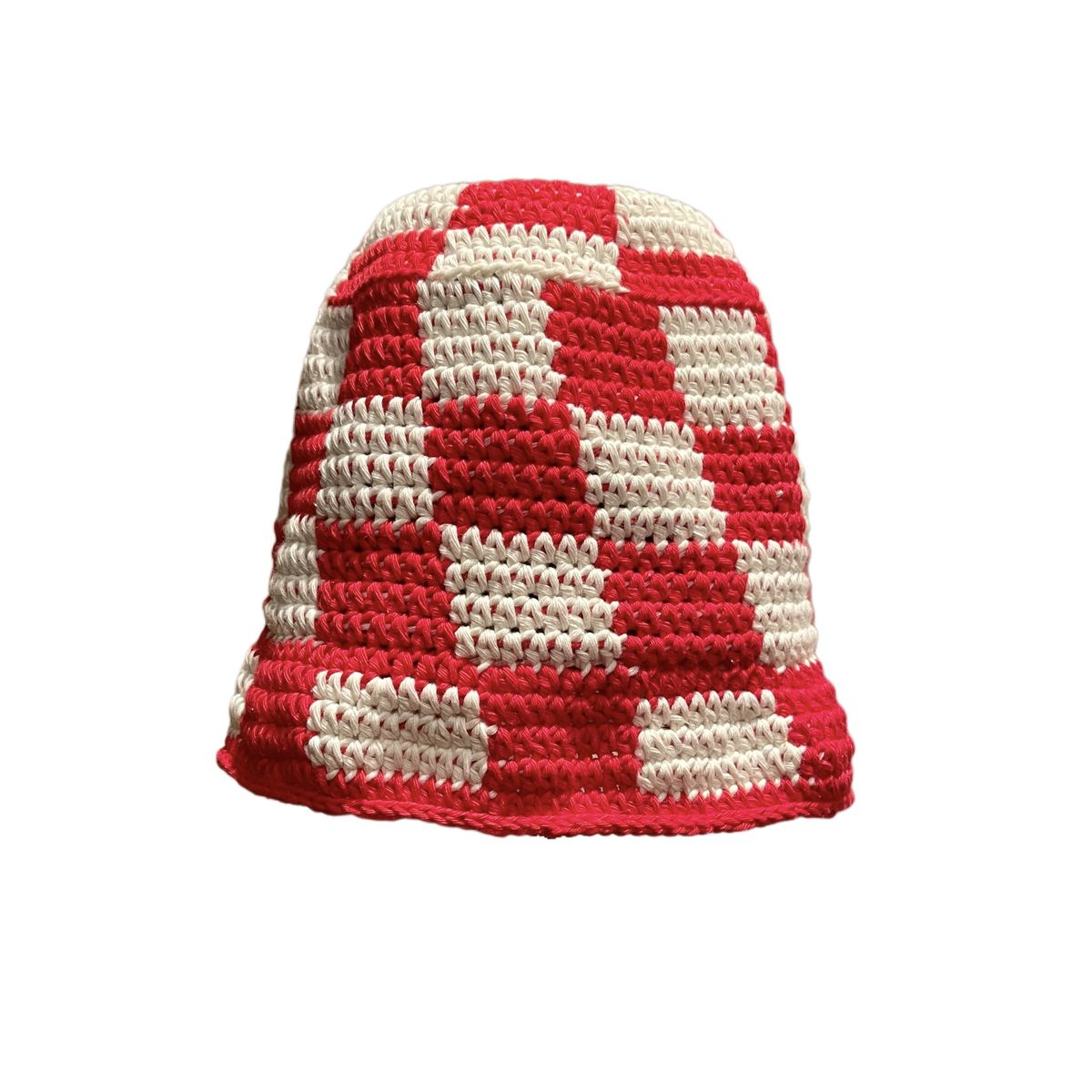 Red/white Check Hat - product images  of