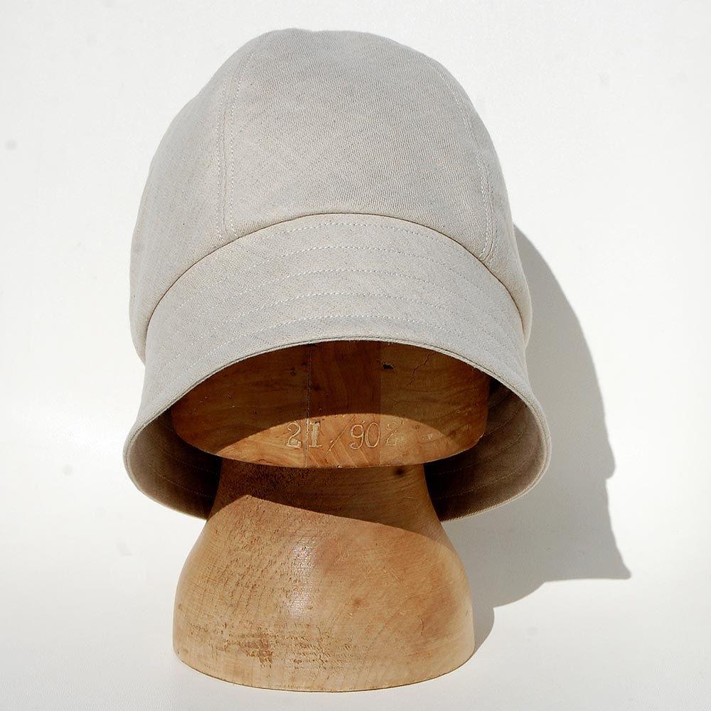 Cream linen sun hat ZUTjeanne - ZUT hats 5aa8bd95f49