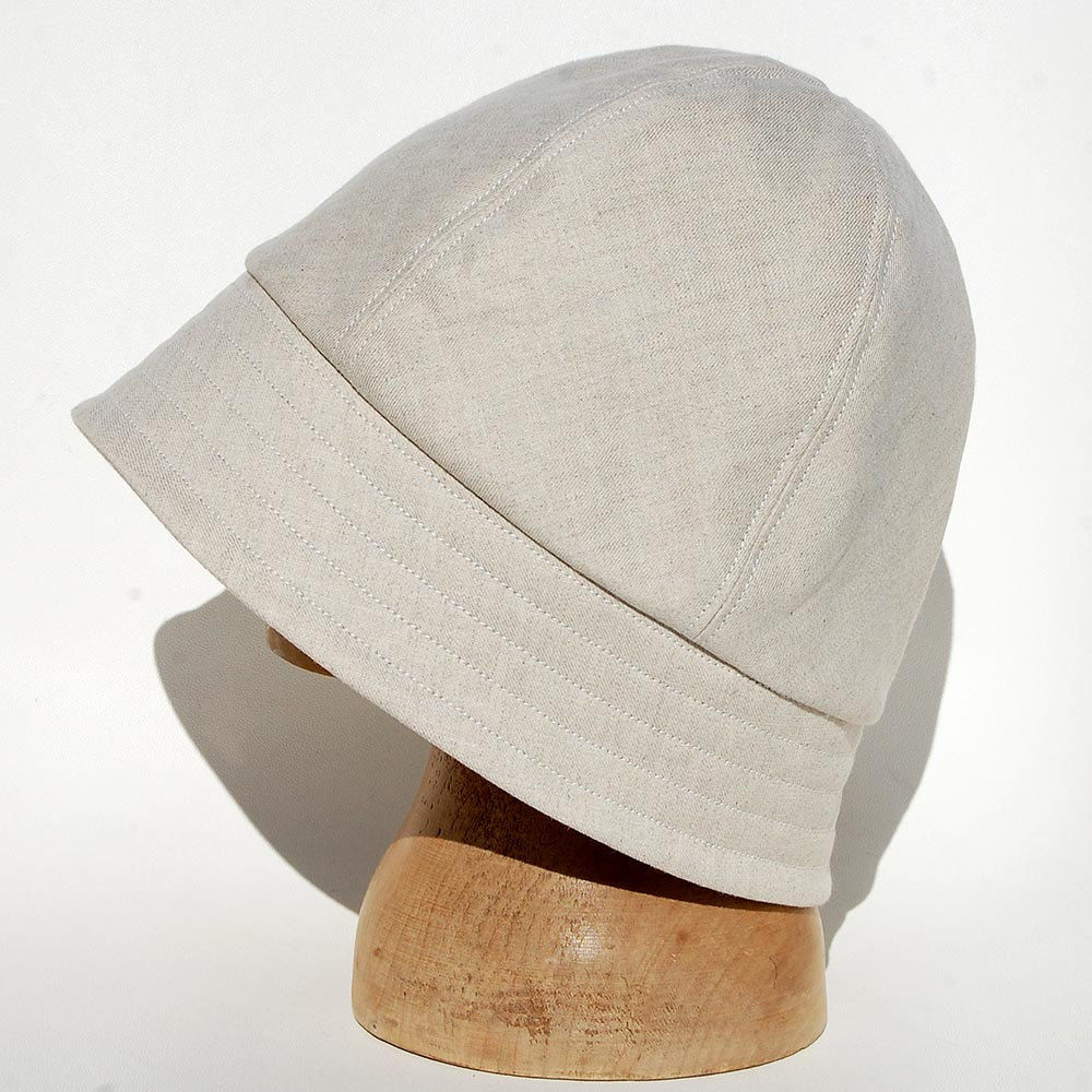 ... Cream linen sun hat ZUTjeanne - product images of dfd4a594359