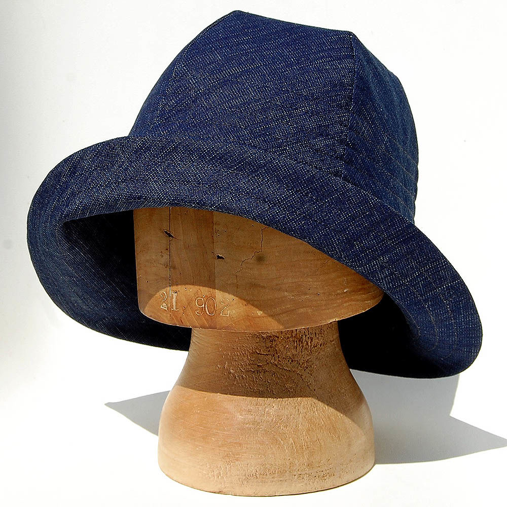 ... Denim sun hat ZUTmarguerite - product images of ... 9fc380ba0ef