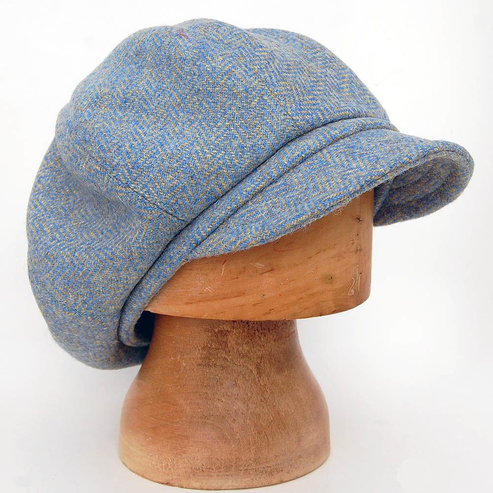 55e34a9f9583c ... Tweed baker boy cap