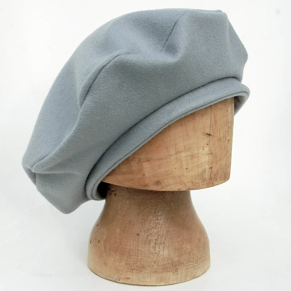 e57e35a6e0abb ... Grey cashmere and lambswool felt beret ZUTmarie - product images of ...