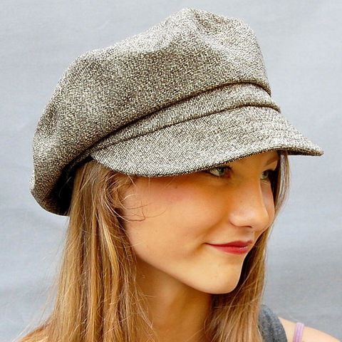 Tall blue tweed cloche ZUTangelique - ZUT hats 58b83881ad2