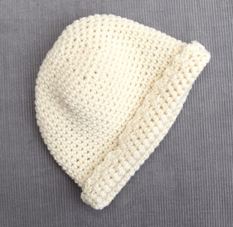 Baby/toddler,hat,(soft,white),baby hat, toddler hat, contemporary, newborn, baby accessory, baby shower gift, baby gift, cotton, merino wool, cream