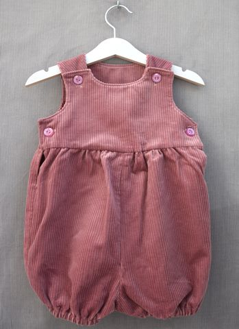 Madison,corduroy,baby/toddler,rompers,(dusky,pink),dusky pink, rompers, romper, bloomers, bubble rompers, play suit, toddler fashion, baby fashion, trendy, corduroy