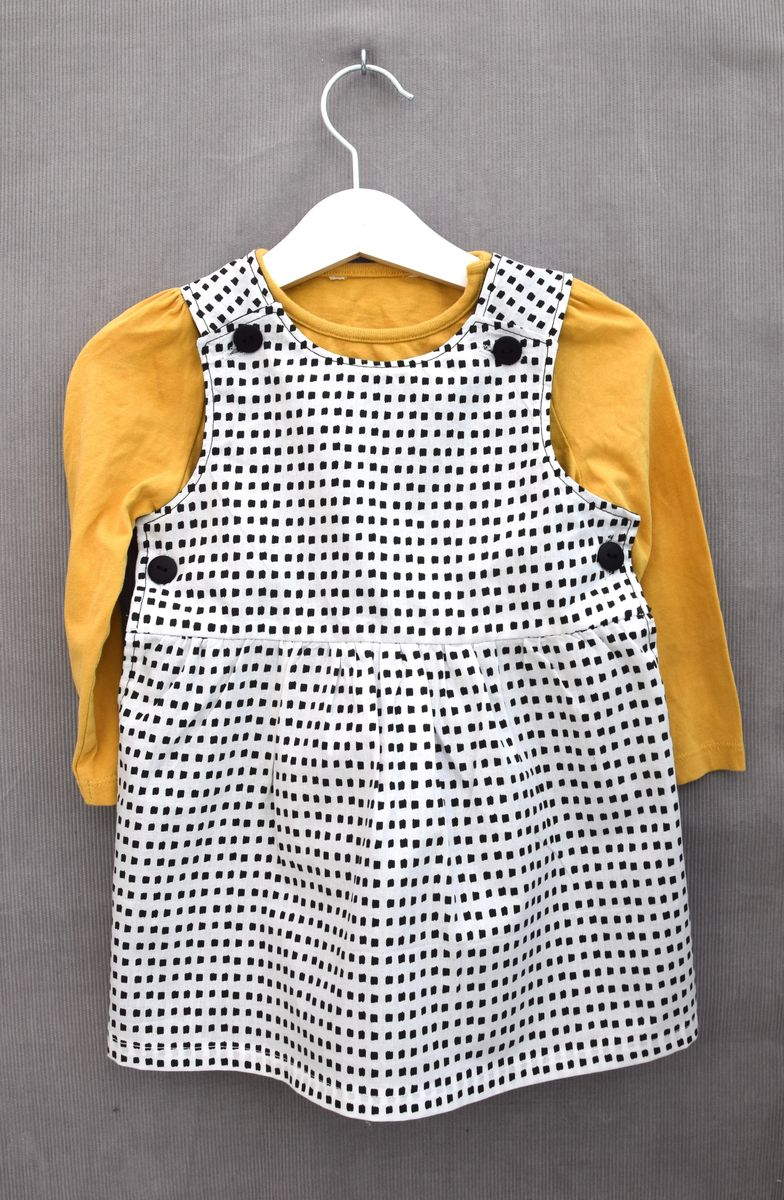 0a1dd160085f ... monochrome print baby/toddler dress - product images of