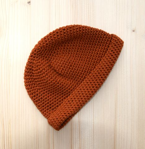 Beanie,hat,,baby,,toddler,,merino,wool,,copper,toddler beanie hat, baby beanie hat, copper, autumn colours, cotton and merino wool, baby accessory, trendy baby hat