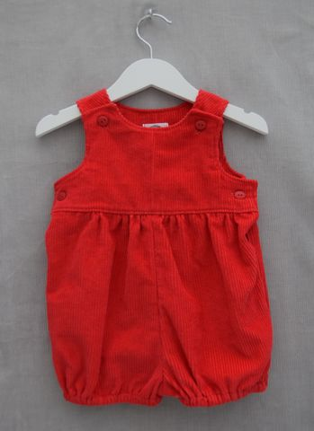 'Rosie',red,baby/toddler,needlecord,bubble,rompers,corduroy,bubble rompers,toddler,baby,vintage,christmas outfit,special outfit