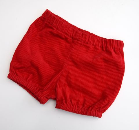 Red,corduroy,bubble,bloomers,for,baby,girl/boy,or,toddler,red, corduroy, bubble bloomers, rompers, baby bloomers, baby outfit, toddler outfit