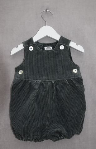 Fir,green,needlecord,baby,girl/boy,or,toddler,rompers, bubble leg rompers, corduroy, baby rompers, toddler rompers