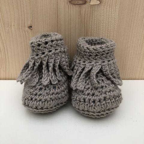 Baby,moccasin,style,bootie/shoes,(taupe),Baby bootee, baby shoe, baby moccasins, baby wool bootee, baby shower gift, newborn, baby, gift