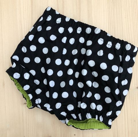 Bubble,leg,baby,,toddler,bloomers,-,monochrome,spots,Bubble leg bloomers, bloomers, toddler bloomers, monochrome, trendy baby, vintage style baby