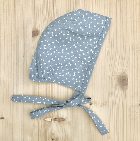Baby,,toddler,bonnet,-,grey,and,off,white,Baby bonnet, toddler bonnet, baby hat, toddler hat, sunhat, grey, off white, trendy baby, vintage style baby