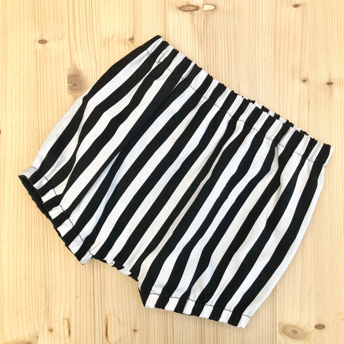 Bubble leg baby, toddler bloomers - monochrome stripes - product images  of