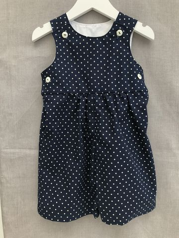 Baby,,toddler,shortalls,-,navy/cream,polka,dots,Navy, polka dots, shortalls, autumn fashion, winter fashion, romper suit, rompers, play suit, toddler fashion, baby fashion, trendy, corduroy, playsuit