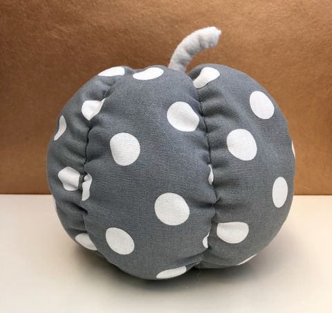 Patterned,fabric,pumpkin,Pumpkin, decorative pumpkin, patterned pumpkin, monochrome, table decoration, autumn decor, fall decor, Halloween, wedding decoration,