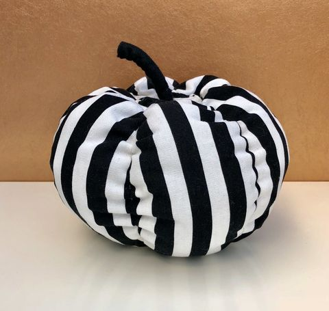 Decorative,patterned,fabric,pumpkin,Pumpkin, decorative pumpkin, patterned pumpkin, monochrome, table decoration, autumn decor, fall decor, Halloween, wedding decoration,