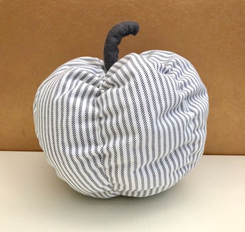 Decorative,patterned,pumpkin,-,grey,stripes,Pumpkin, decorative pumpkin, patterned pumpkin, monochrome, table decoration, autumn decor, fall decor, Halloween, wedding decoration,