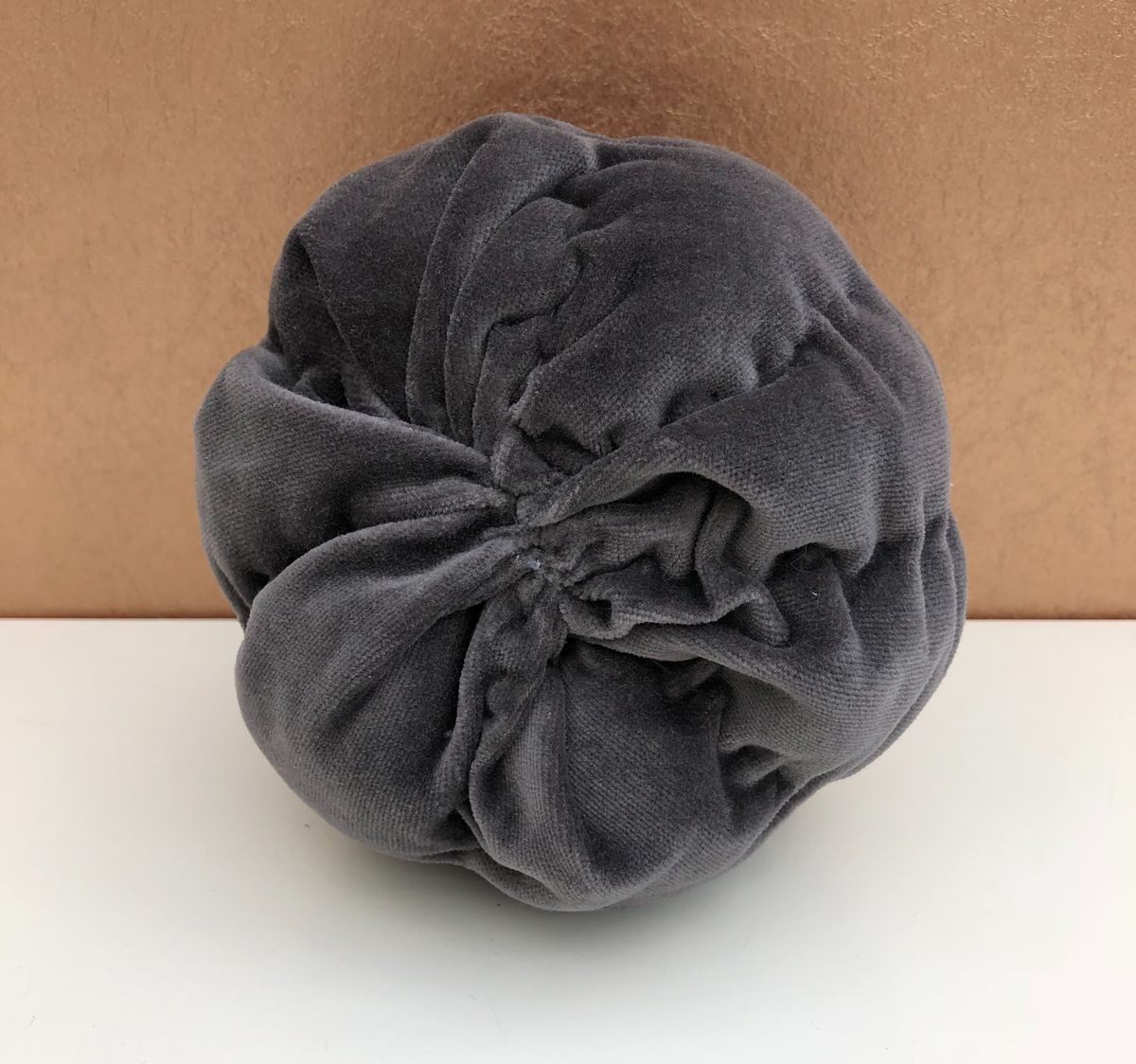 Decorative velvet pumpkin - product images  of