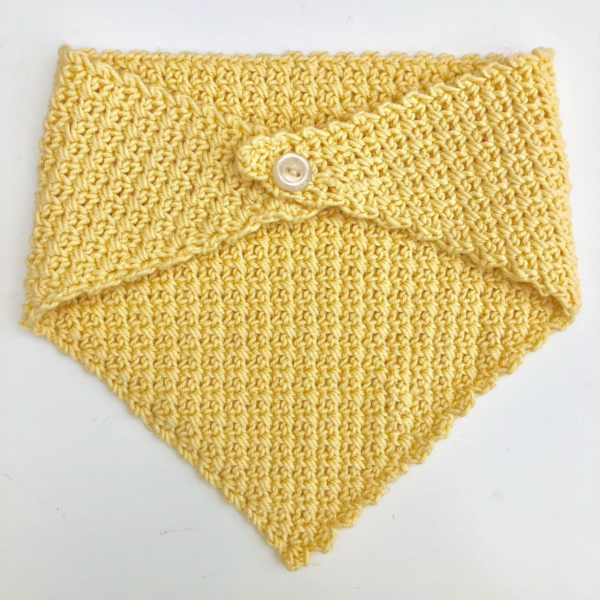 Baby/toddler bandana scarf (yellow) - product images  of