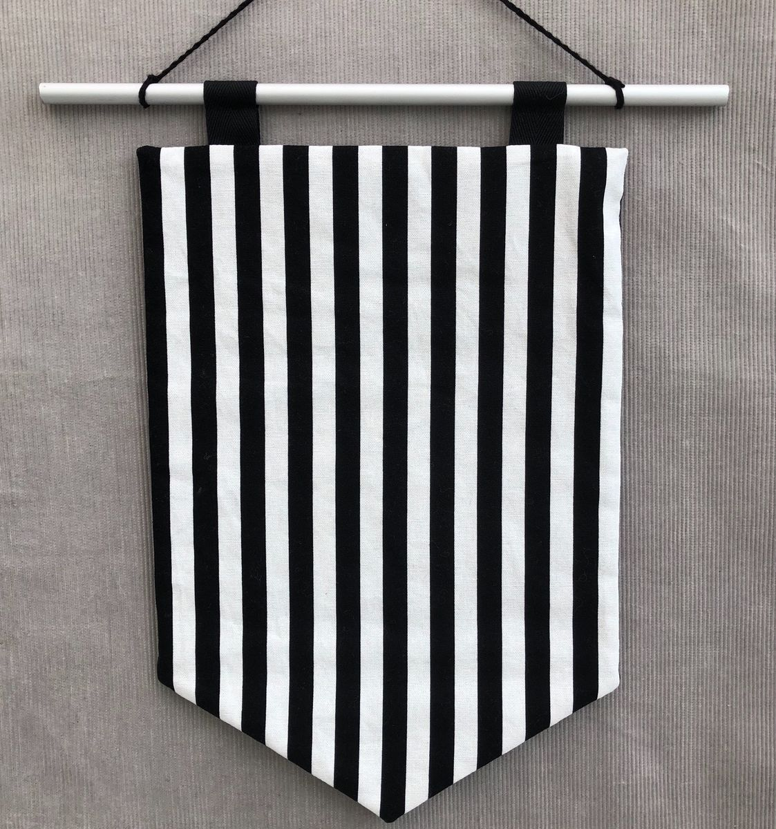 Decorative banner wall hanging - monochrome - product images  of