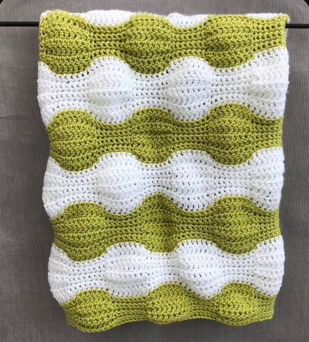 Contemporary,baby,blanket,,green,and,white,Baby blanket, contemporary, green, white, stripes, pram, stroller, cot blanket, cover, snuggle blanket, cosy, unique